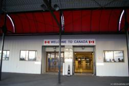 Welcome to Canada sign at the Victoria Harbour Authority building.jpg