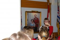 Painting of the British queen and prince inside the Victoria Legislative Building.jpg