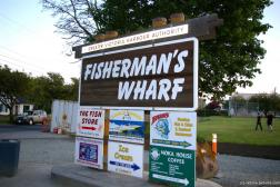 Fisherman's Wharf sign in Victoria by the Greater Victoria Harbour Authority.jpg