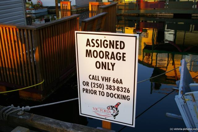 Assigned Moorage Only sign at Victoria Fisherman's Wharf.jpg