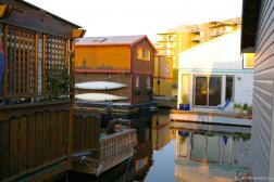 Several floating homes at Victoria Fisherman's Wharf in Canada.jpg