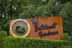 The Butchart Gardens sign Over 100 years in Bloom.jpg