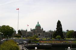 The Victoria Legislative Building from across the Victoria Harbour.jpg