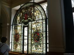 Glass stained window inside the Victoria Legislative Building.jpg